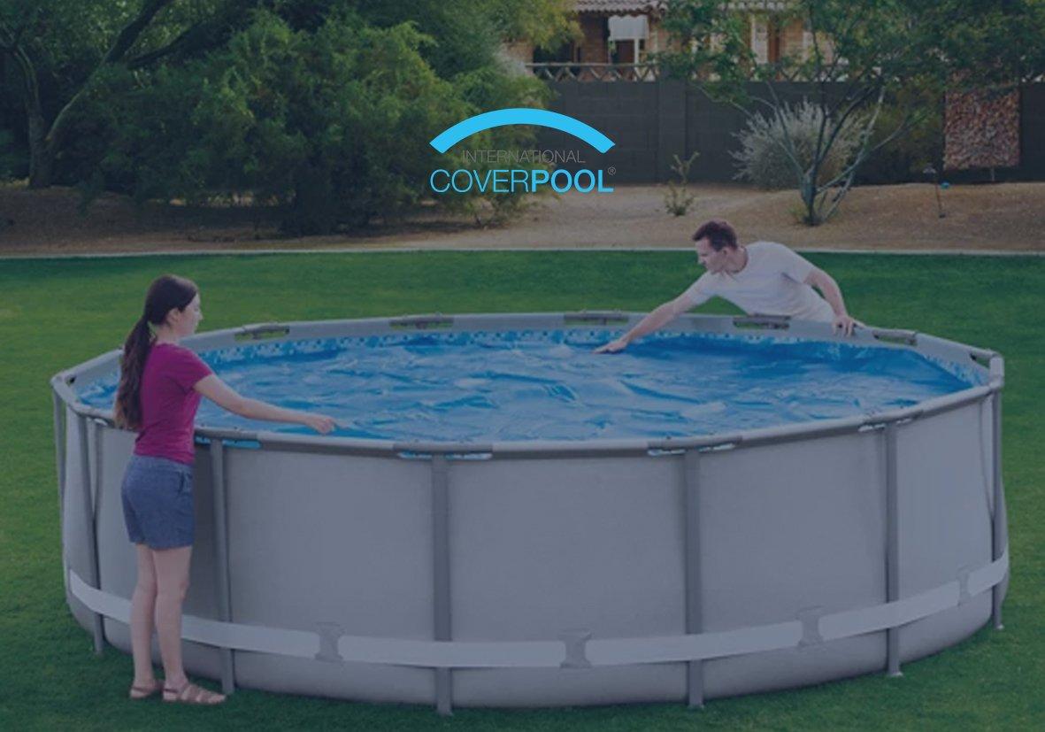 Cubiertas piscinas desmontables | Ahorra en el mantenimiento